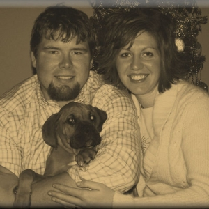 Family Christmas Picture-Cooter's 1st Christmas